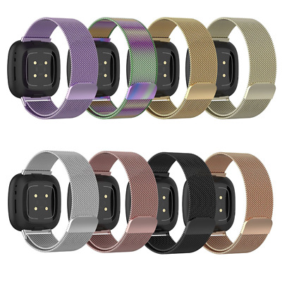 $ CDN15.86 • Buy Replacement Milanese Steel Band Metal Watch Strap Wristband For Fitbit Versa 3