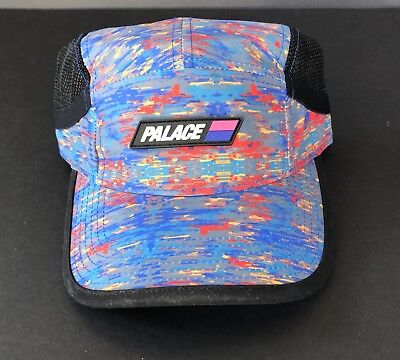 $ CDN92.23 • Buy Palace Skateboards 4g Outdoor Hat Red Grey Blue Mint Never Worn Rare Supreme !!