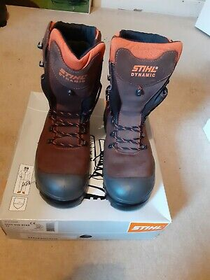 STIHL Dynamic Chainsaw Boots Size 44/9.5 • 120£