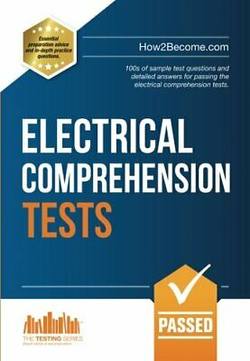 ELECTRICAL COMPREHENSION TESTS: 100s Of Sample Test Questions New Paperback Book • 13.12£