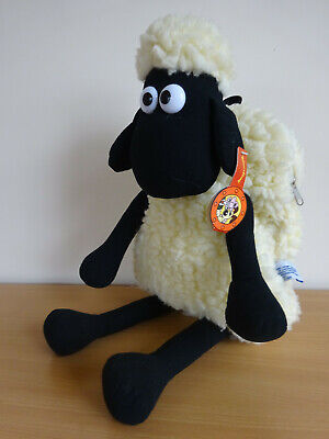 Wallace & Gromit Vintage Shaun The Sheep Backpack Rucksack 1989 With Tags  • 21.99£