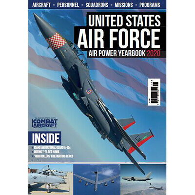 $11.49 • Buy United States AIR FORCE Air Power Yearbook 2020 ~ Combat Aircraft~ FREE SHIP