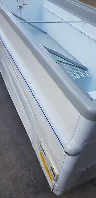 Costan Commercial Chest Freezer Display 1.9m Can Deliver 07788156508 • 339£