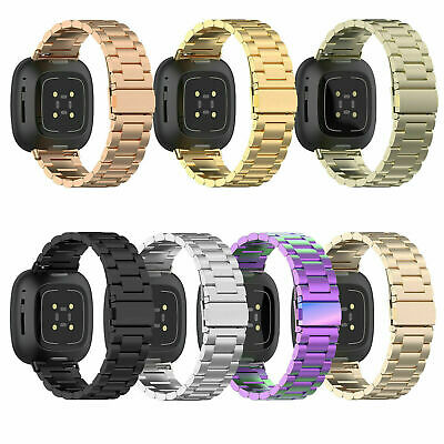 $ CDN20.76 • Buy Replacement Stainless Steel  Wristband  Watch Strap For Fitbit Versa 3 Band