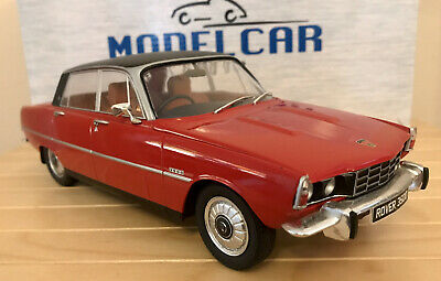 Rover P6 3500  Red/black Roof Great Detail Mcg 1:18 Diecast  Boxed • 50£