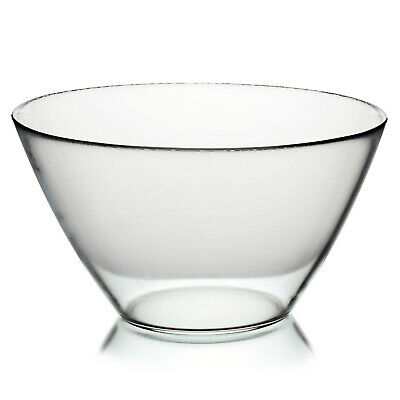 £7.95 • Buy Bormioli Rocco 26cm Glass Mixing Kitchen Serving Cooking Snack Food Salad Bowl