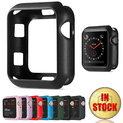 $ CDN6.80 • Buy For Apple Watch IWatch Series SE 6 5 4 3 2 Matte Case Soft Cover 38 40 42 44mm