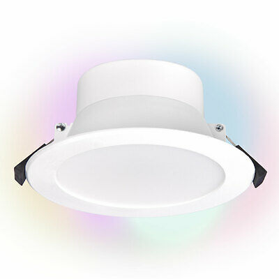 AU24.99 • Buy Wifi Smart LED RGB  Downlight White Amazon Alexa, Google Home 110mm 1000 Lumens