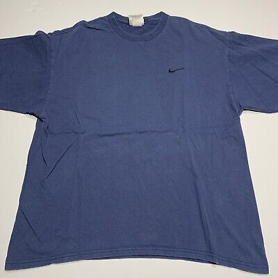 $ CDN32.88 • Buy Vintage 90s Nike White Tag Embroidered Tee Shirt Size L