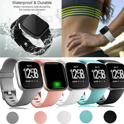 $ CDN5.51 • Buy For Fitbit Versa 2 1 Lite Replacement Straps Silicone Sport Band Wrist Bracelet