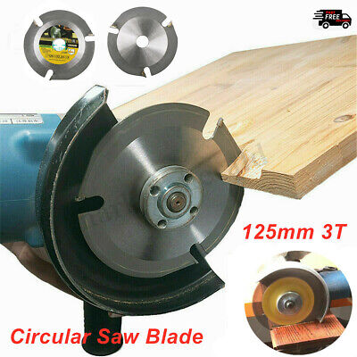 £10.49 • Buy 125mm 3T Circular Saw Blade Carving Disc Carbide Wood Cutting For Angle Grinder