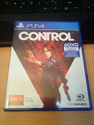AU30 • Buy Control PS4 Game Like New