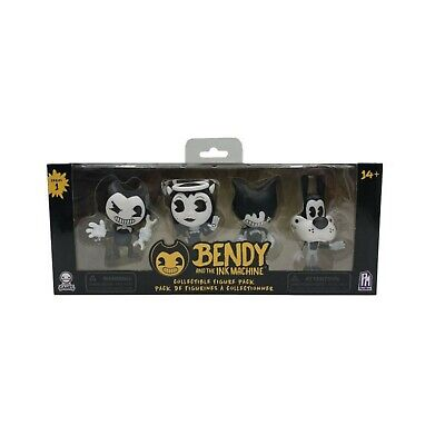 Bendy And The Ink Machine Collectible Figure Pack 4 Figures 5cm Gift UK • 13.29£