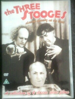 The Three Stooges*dvd*a Collection Of 4 Classic Short Films*comedy*rated U • 2.49£