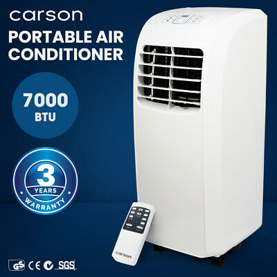 AU349 • Buy 【EXTRA10%OFF】CARSON 4-in-1 Portable Air Conditioner Dehumidifier Fan Cooler