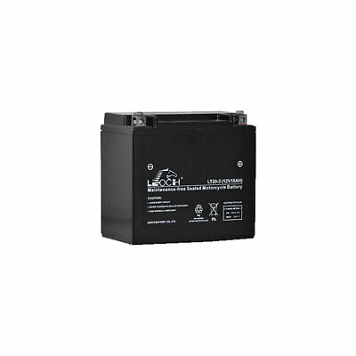 Leoch LT20-3 Sealed Upgrade Motorcycle AGM Battery Replaces YTX20L-BS, YTX20LBS • 46.99£
