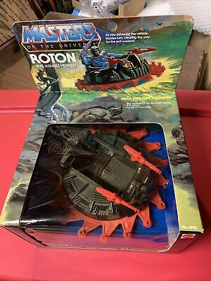 $235 • Buy Masters Of The Universe Vintage Roton - Sealed In Box - Mattel 1983 Case Fresh