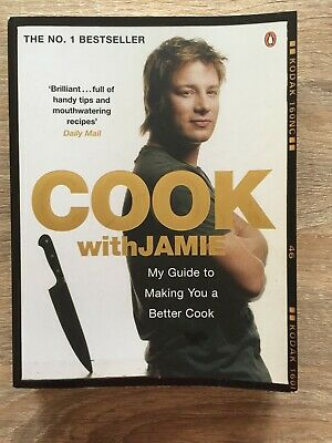AU11 • Buy Jamie Oliver Cook Book Cooking Instruction 'Cook With Jamie' 2006 - Used