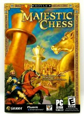 $8.99 • Buy Hoyle Majestic Chess (PC, 2003) CD-ROM Computer Game BOOKLET ONLY (D3)