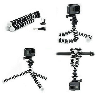 AU16.19 • Buy For GoPro Hero 7 6 5 4 3 Action Cam Go Pro Octopus Flexible Tripod Stand AU
