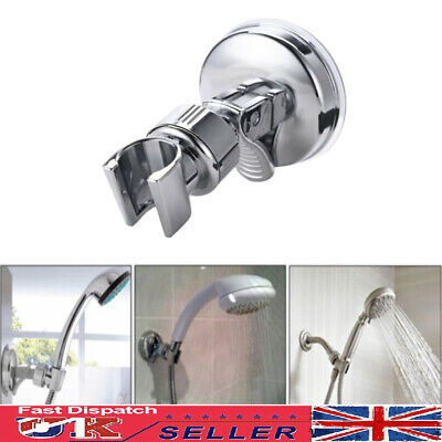 Shower Head Holder Suction Bracket Wall Mount Adjustable Handset Bathroom Hot • 5.59£