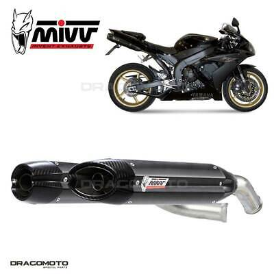 $897.42 • Buy Exhaust YAMAHA YZF 1000 R1 2004 2005 Suono MIVV Steel Black Underseat