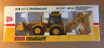 Joal JCB 217S Centremount, Mint Model, Yellow Buckets, Box As Shown. • 42.50£