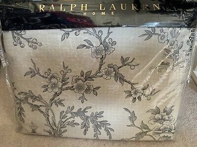 Ralph Lauren Super King Size Duvet Set In St Honore Pagoda Satin • 210£
