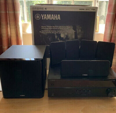 Yamaha HTR-2067 Receiver With NS-SWP20 5.1 Speaker System ( YHT-1810 ) • 249.99£