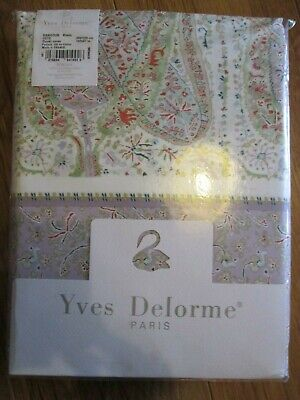 Yves Delorme Super King Duvet Set In Rangoon Blanc Design • 310£