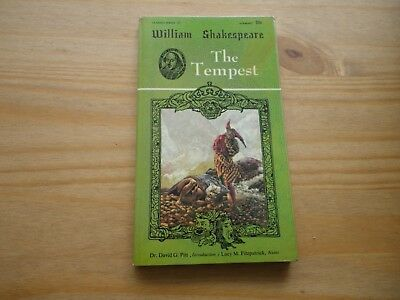 The Tempest By William Shakespeare Airmont Classic 1965 Paperback • 4.50£