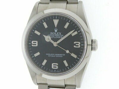 $ CDN10053.36 • Buy ROLEX Explorer I 114270 Men's Automatic SS #D053