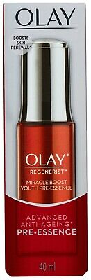 AU22.55 • Buy Olay Regenerist Advanced Anti-Ageing Miracle Boost Youth Pre-Essence Serum 40mL