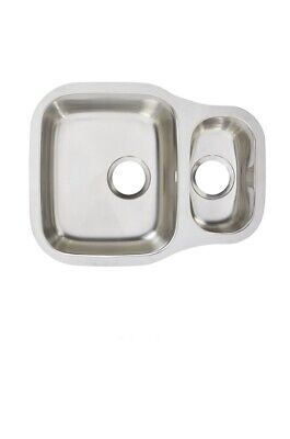 Cooke & Lewis Undermount Foucault 1.5 Bowl Polished Stainless Steel Sink • 69£