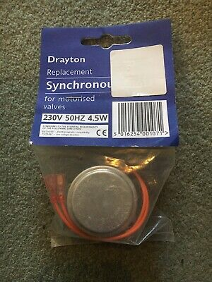 New DRAYTON Replacement Zone Valve Synchronous Motor In Original Packaging • 13£