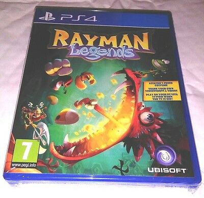 AU44.97 • Buy RAYMAN LEGENDS PS4 Game NEW UK PAL English For Sony Playstation 4 Great Kids