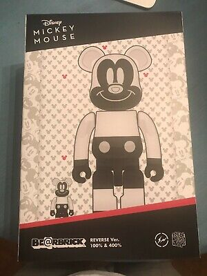 $550 • Buy Bearbrick Medicom 2020 Disney X Fragment Design Mickey Mouse Reverse 100% 400%