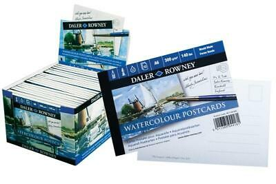 Daler-Rowney LANGTON COLD PRESSED 140lb POSTCARD Artists Watercolour Paper • 6.05£