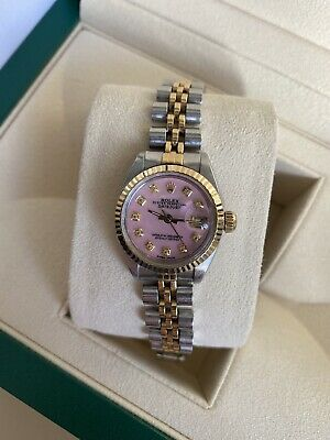 $ CDN6818.31 • Buy Ladies Rolex Datejust Diamond Dial Box And Papers