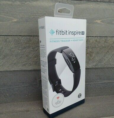 $ CDN103.74 • Buy Fitbit Inspire HR Fitness & Heart Rate Tracker - BLACK - S&L Bands Included NEW