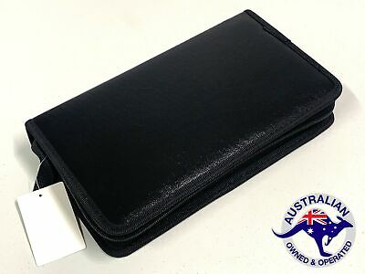 AU13.99 • Buy 80 Disc Wallet Sleeve Holder In Car Ideal For Storage Carry Case DVD CD