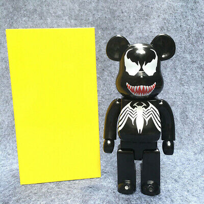 $32.99 • Buy New 400% Be@rbrick Bearbrick Cosplay VENOM PVC Action Figure Fahion Toys In Box