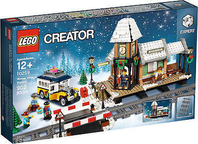 LEGO 10259 Creator Winter Village Station - Brand New In Box - Free Gift Offer! • 235.56£