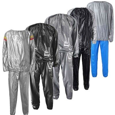 AU19.38 • Buy Sauna Sweat Suit For Max Weight Loss Work Out Boxing Gym Slimming Body Men  &