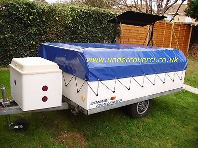 Conway Countryman 1980-2004 Trailer Tent/ Folding Camper Cover. Hand Made • 140£