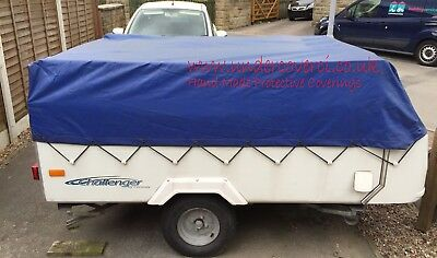 £112.50 • Buy Conway Challenger 2004-2008 Trailer Tent/ Folding Camper Cover. Hand Made
