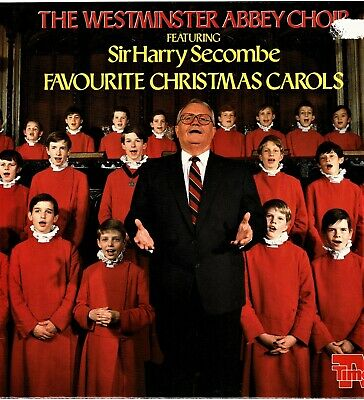 HARRY SECOMBE Favourite Christmas Carols 15 Tracks Collectable 12  Vinyl LP Kb • 11.99£