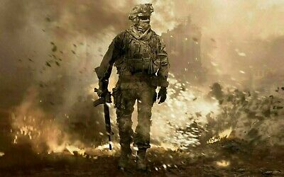 £19.99 • Buy Call Of Duty Mw2 20x30INCHES Wall Art Canvas UK Seller Free Post Limited Stock