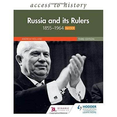 Access To History: Russia And Its Rulers 1855-1964 For  - Paperback / Softback N • 21.46£