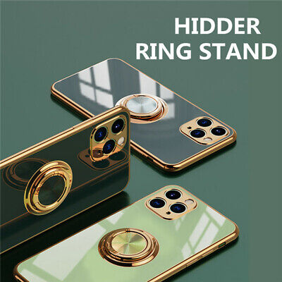 AU12.98 • Buy Luxury Case For IPhone 11 PRO MAX X XS 8 7 Plus Ring Stand Holder TPU Soft Cover